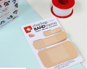 Band Memo Sticky Note band aid sticky flag creative design funny gift cute sticky Note Funky gift funny paper goods scrapbook