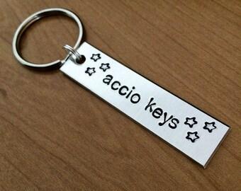 Accio keys keychain - Harry Potter keychain