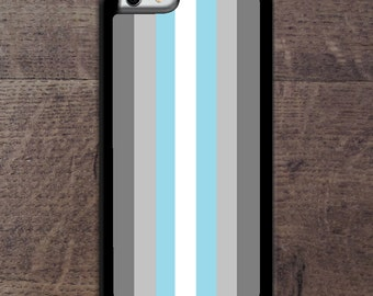 Demiboy flag phone case