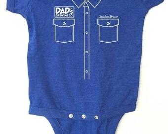 "Craft Beer Baby bodysuit- Assistant Brewer ""Work Shirt"""