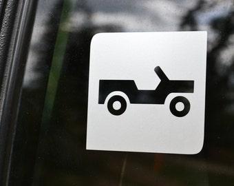 Jeep/4x4 Trail Symbol Decal