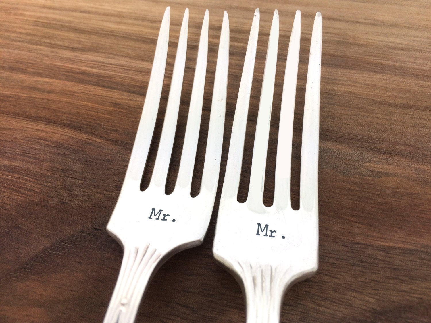 What To Get A Gay Couple For A Wedding Gift: Gift For Gay Couple Mr Mr Forks Gay Wedding Gift Hand