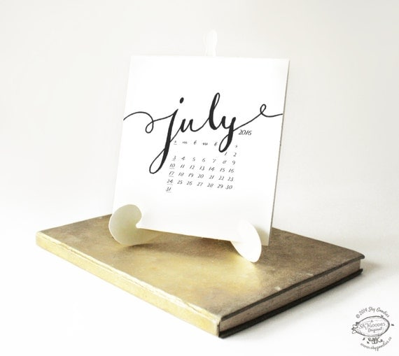 """Typography Desk Calendar : Search results for """" calendar displaying week number"""