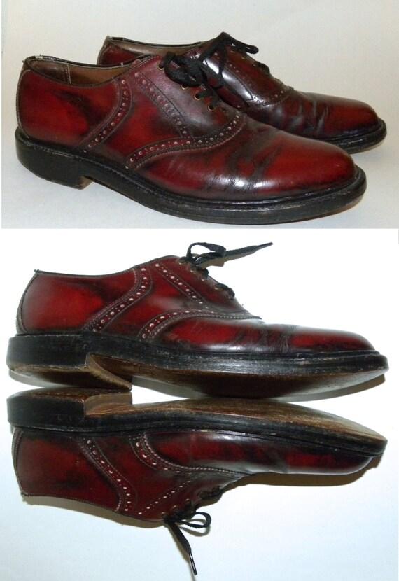 vintage shoes oxfords oxblood by jewvenchyvintageshop