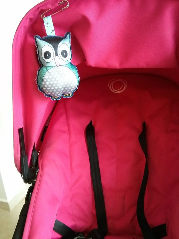 items similar to owl car seat toy owl stroller toy owl stroller doll baby blue shower gift. Black Bedroom Furniture Sets. Home Design Ideas