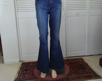 Bellbottom Jeans Redesigned Elephant Upcycled Refashioned 60s 70s Bell Bottoms