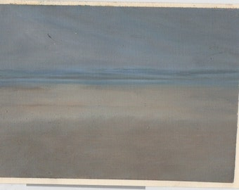 Deserted Beach, oil painting
