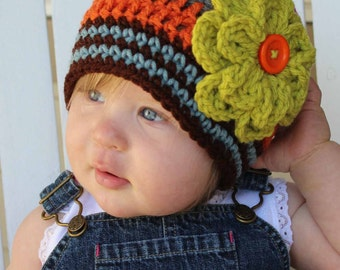 Baby Girl Hats, Baby Hats, Kids Hats, Kids Beanies, Baby Beanies, Girl Flower Beanie, Women Hat, Kids Hats, Photo Prop