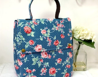 SALE!!! 20% OFF - Insulated Lunch Bag / Fabric Lunch Bag / Lunch Box / Insulated Lunch Box