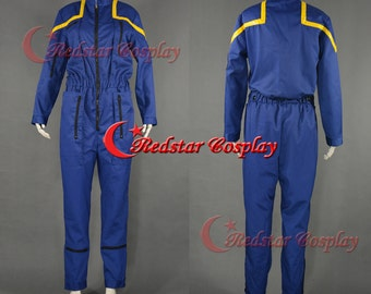 ENTERPRISE JUMPSUIT Star Trek Cosplay Costume Halloween Uniform - Scott Cosplay Costume (Scott Bakula)
