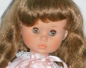 Zanini & Zambelli Italy Sixteen Inch Doll Brown Hair Amber Eyes