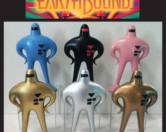 EarthBound Starman Mother 2 - 20th Anniversary Nintendo Custom-made Large 7.5 inch Figures