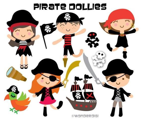Pirate Clipart Kids Clip art Pirate Illustration Pirate