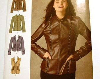 Simplicity 0471 - Misses Jacket Pattern - Size 6, 8, 10, 12, and 14