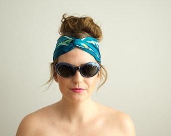 vintage 1960s sunglasses / blue mod sunglasses / Summer in the City Sunglasses