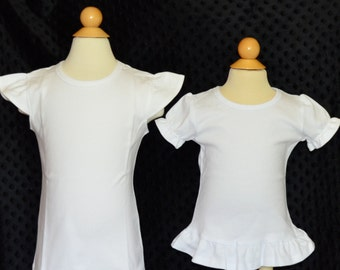 Upgrade to Ruffle Shirt or Onesie or Flutter Sleeve Shirt