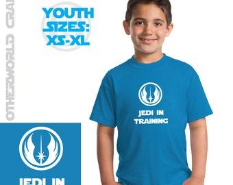 Jedi In Training Youth T-Shirt - Star Wars