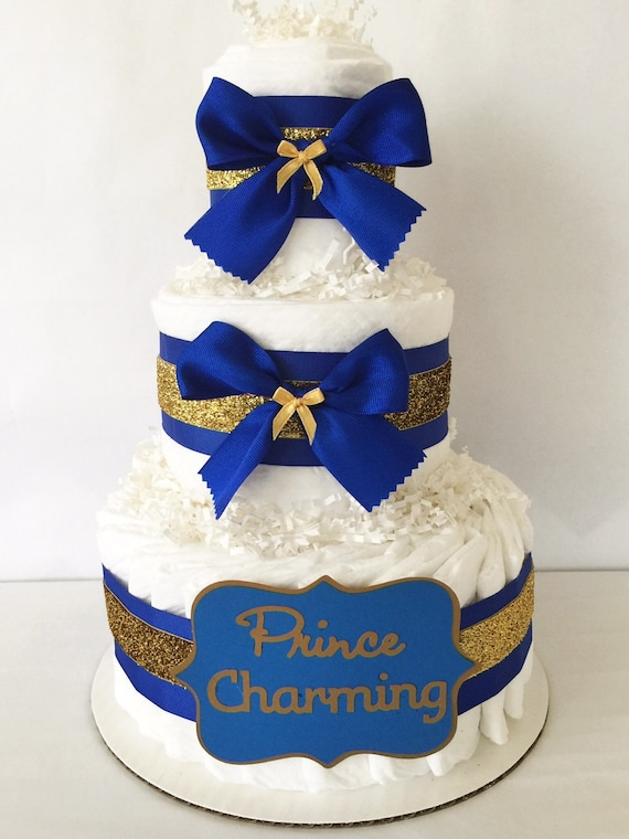 royal prince baby shower cake prince charming cake in royal blue and gold prince 7170