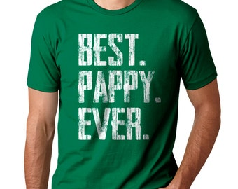 FATHERS DAY SHIRT - Best Pappy Ever - Men's Tee- Small,  med, large, xlarge, XXl, XXXl