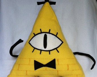 NEW:  All Seeing All Knowing Pyramid Plushie