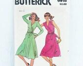 Long Wrap Dress Pattern w...