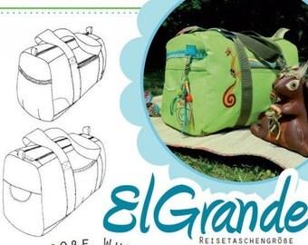 """Farbenmix pattern bag """"El Grande"""""""