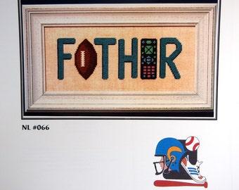 Father! By Nessy Lynn's Cross Stitch Pattern Leaflet 2002