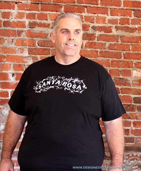XXL Unisex Santa Rosa T-Shirt