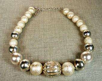 White collar broken and silver