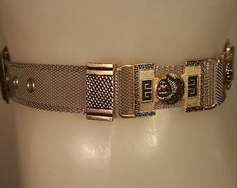 FREE  SHIPPING    Versace Style Belt