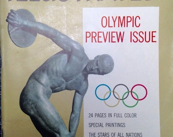 1956 Olympics Preview Issue Sports Illustrated