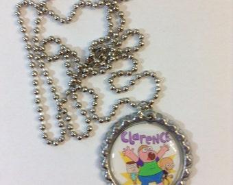 Clarence Cartoon Bottle Cap Necklaces Party Pack 10 Pieces