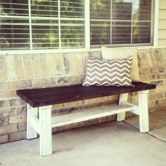 Decorative Bench The Cottage Bench By Cottagecountrycorner