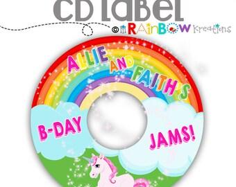 CDLABEL-810: DIY -  Magical Dream Cd Label