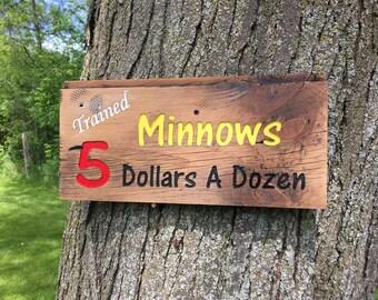 Minnow sign