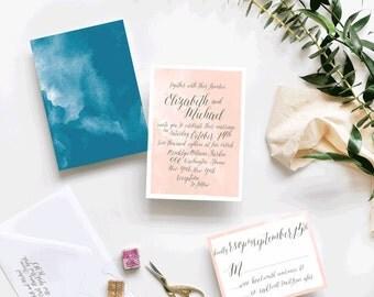 Eternal Custom Wedding Invitations Sample