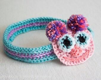 Sesame Street Abby Cadabby Headband, Abby Cadabby Headband, Crochet Baby Girl Headband,