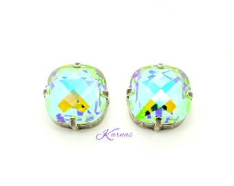 HEAT WAVE Large 16mm Crystal Stud or Post Statement Earrings Swarovski Elements *Pick Your Finish *Karnas Design Studio *Free Shipping*