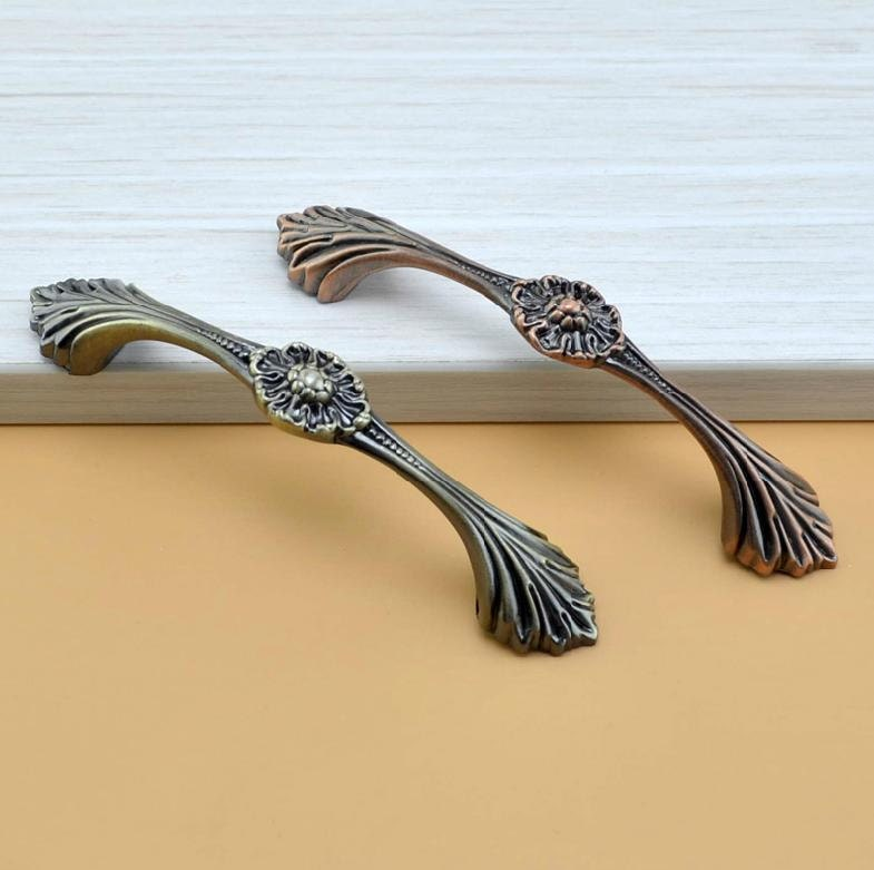 Cool Kitchen Cabinet Hardware: Unique Drawer Pulls The Leaves Style /Cabinet Pulls Handle