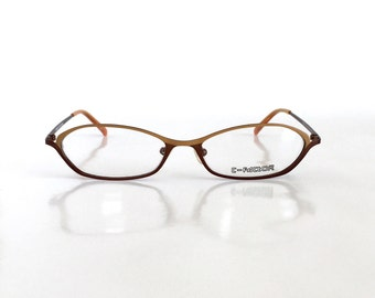 s reading glasses brown frame with by