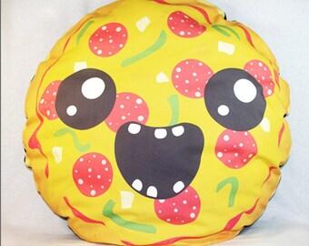 Pizza Head - floor cushion