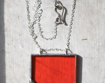The Mod: Stained Glass Pendant