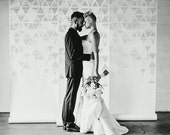 Unique, Modern Wedding Backdrop Panels, Lasercut Paper, Photobooth Backdrops, Custom Designs
