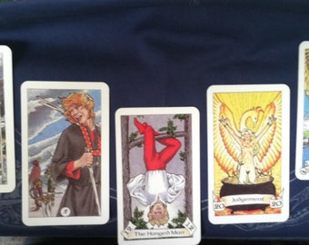 Five-card specific tarot reading - get answers targeted to your custom query