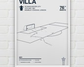 Ricky Villa vs Manchester City Giclee Print