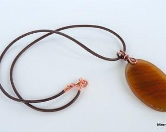 Necklace Caramel Coated