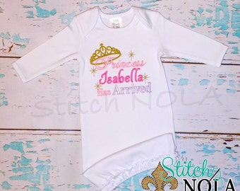 SHIPS FAST!!  Princess Has Arrived Gown or Bodysuit