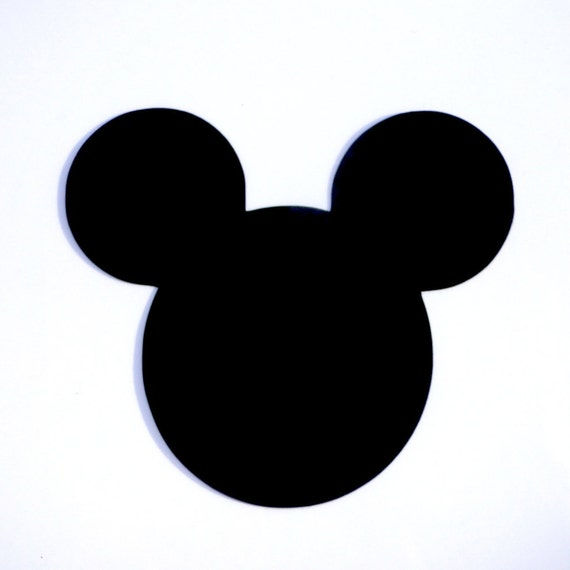 Mouse Head Ears Die Cut, Disney's Mickey Mouse Clubhouse Ears Cut Out ...