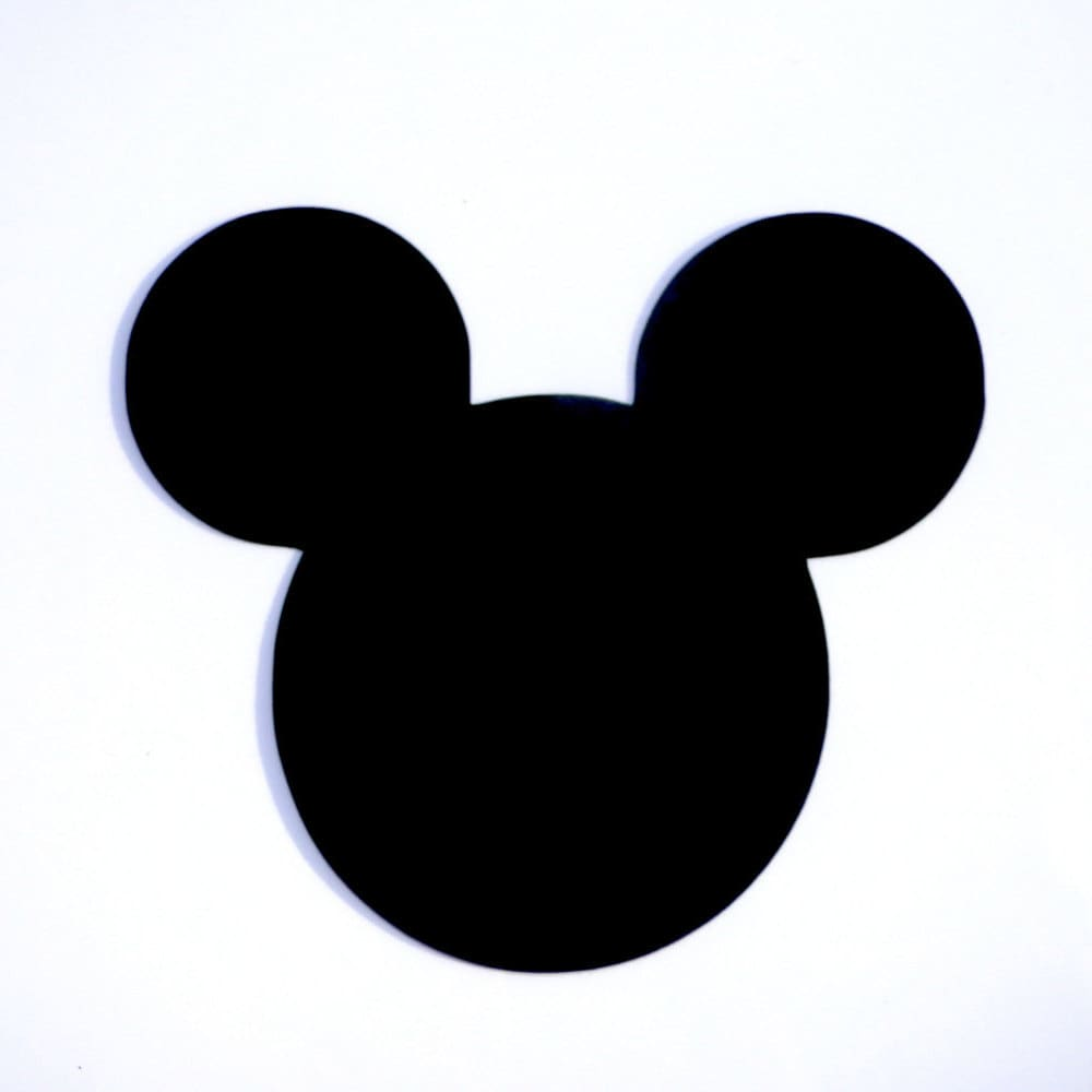 Mickey Mouse Head Ears Die Cut Disney's Mickey