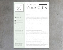unique personalized resume related items etsybuy get free resume template pack cover letter